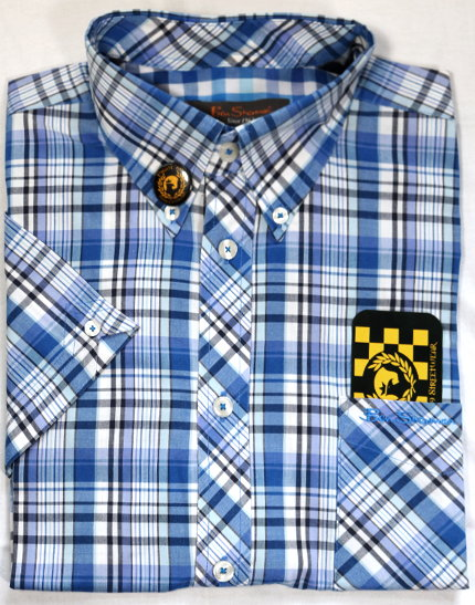 Ben Sherman blue plaid shirt