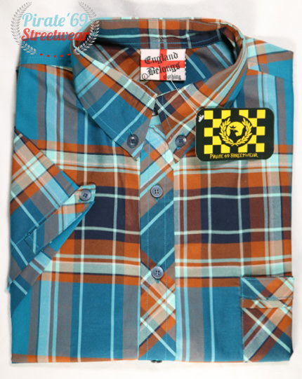 Mod England Belongs Tartan Shirt