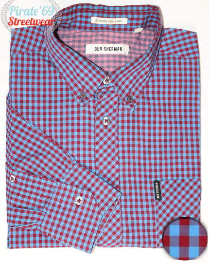 Ben Sherman Skinhead checkered Shirt