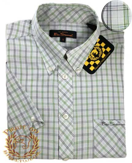 Ben Sherman short sleeves Plaid Shirt