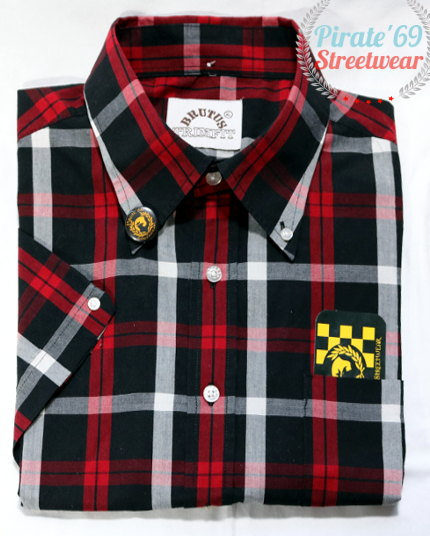 Brutus Trim Fit Plaid Shirt