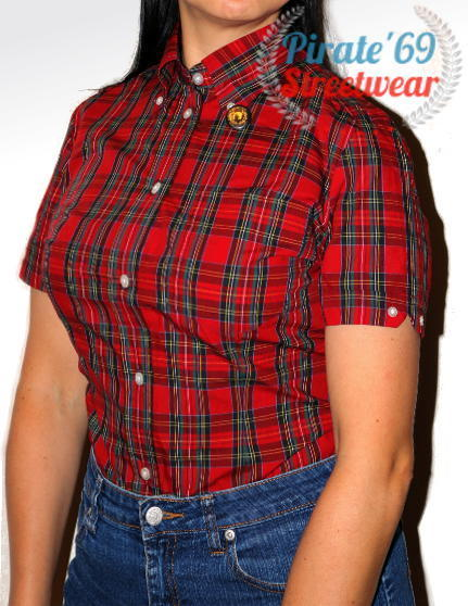 Brutus jaytex Womens Original Trimfit Shirt Tartan Check