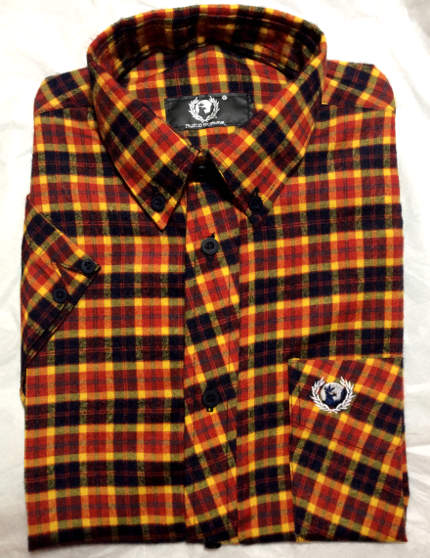 Hawk Skinhead Plaid Shirt