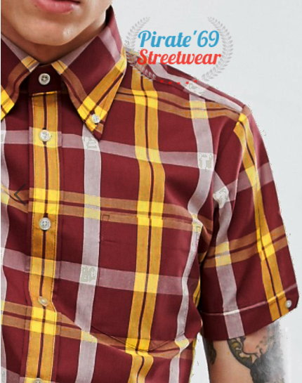 Dr. Martens Spirit of 69 for Brutus Trimfit tartan Shirt