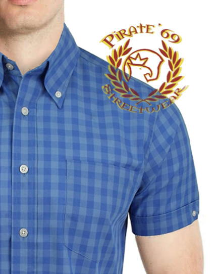 Brutus Trimfit Plaid Shirt