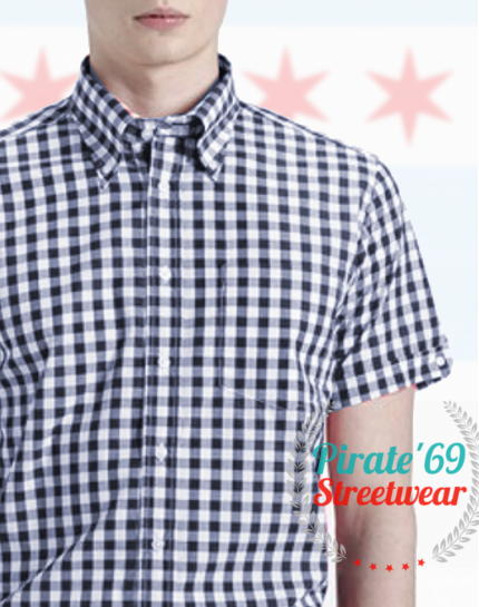 Brutus Trimfit Madras Shirt