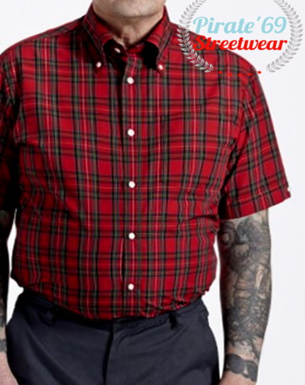 Brutus Trimfit Windowpane Shirt