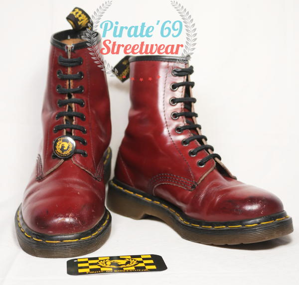 Dr Martens 1460 cherry boots MIE
