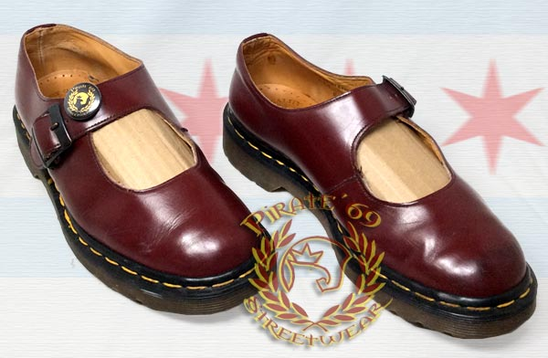 Dr Martens Oxblood mary Janes MIE