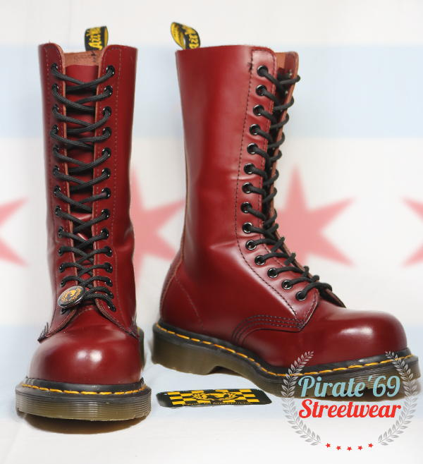 SALE DR MARTENS 1940 STEEL TOE BOOTS