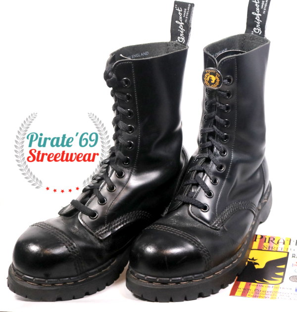 Gripfast Vintage Boots Made In England