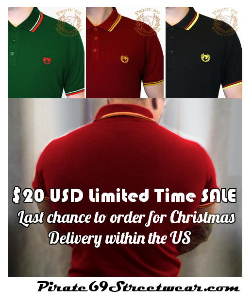 Twin Tipped Polo Shirts $20