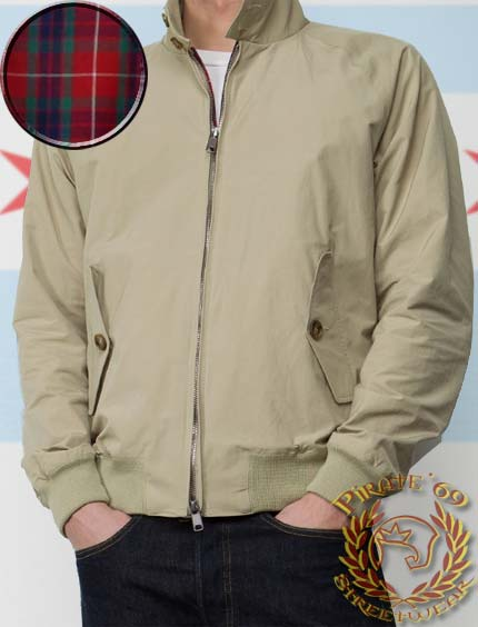 Retro Mod Harrington Jacket baracuta-g9 style