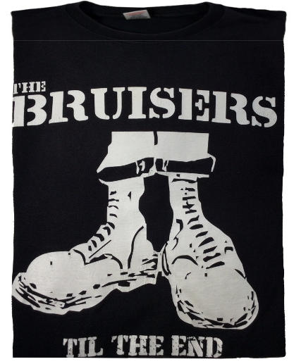 The Bruisers Oi camiseta concierto,