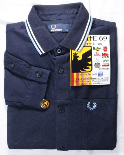 Fred Perry Skinhead Camisa