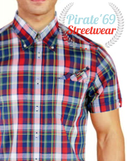 Brutus Red Madras Check Greatfit