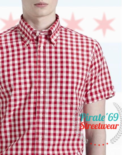Brutus GREATFIT Red Large Gingham