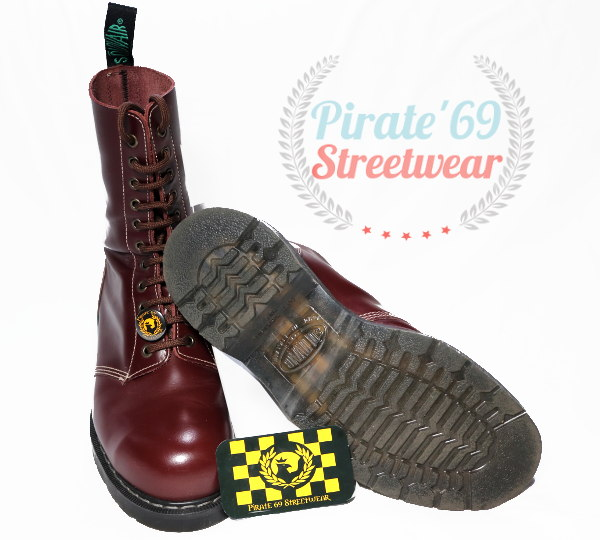 Solovair Oxblood Traditional Boots