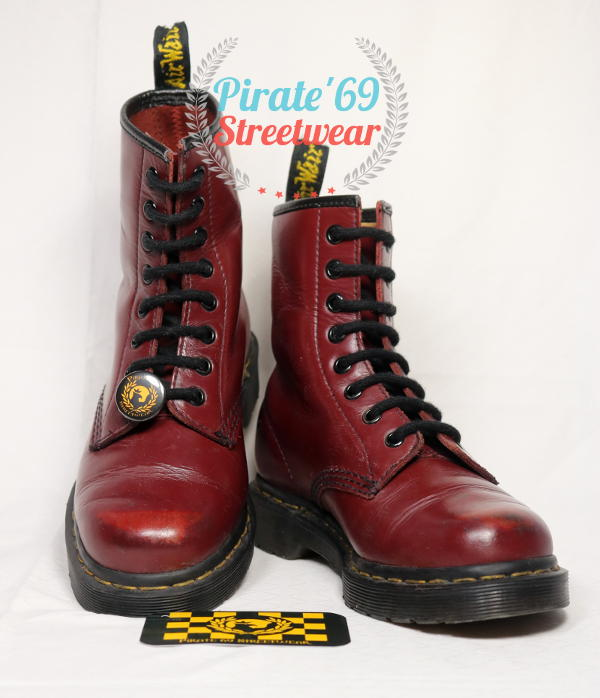 Dr Martens 1460 cherry red boots