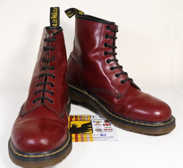 Dr Martens Cherry Boots