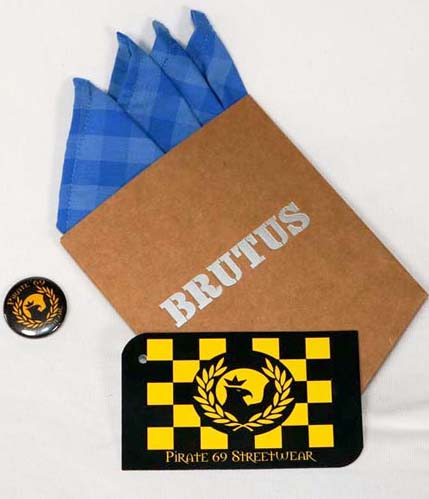 Brutus removable pocket hankie
