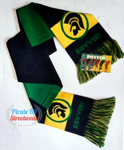 Trojan Reggae Soccer Hooligan Scarf