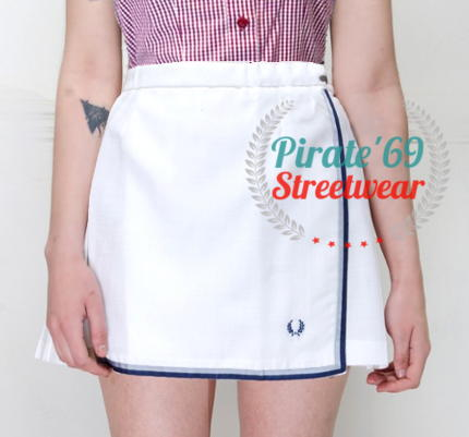 Pirate 69 Fred Perry Tennis Skirt