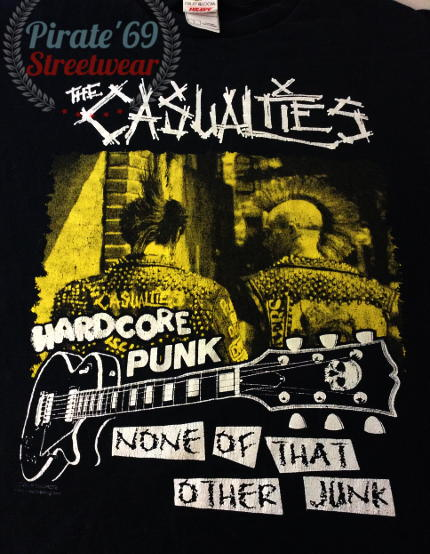 The Casualities Hardcore Punk T-shirt
